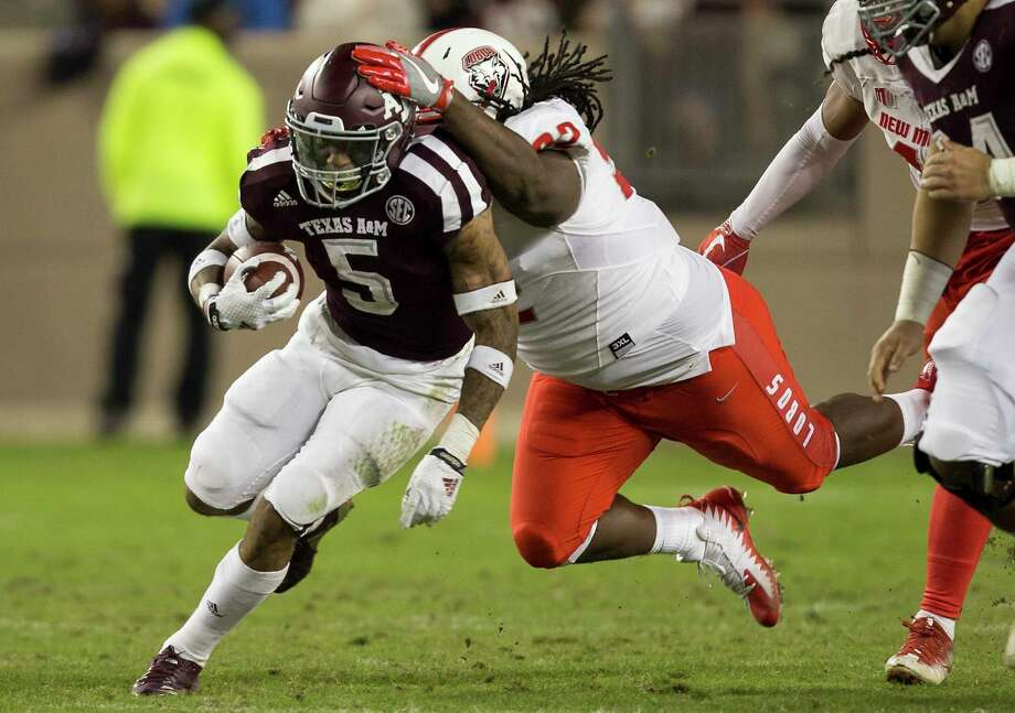 Texas A&M running back Trayveon Williams said he expects to be a focal point of new coach Jimbo Fisher's offense. He ran for 1,000-plus yards as a freshman in 2016. Photo: Sam Craft, FRE / AP