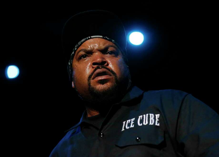 Ice Cube performs during the first night of the Treasure Island music festival Oct. 15, 2016 in San Francisco, Calif. Photo: Leah Millis, Staff / Leah Millis/ The Chronicle
