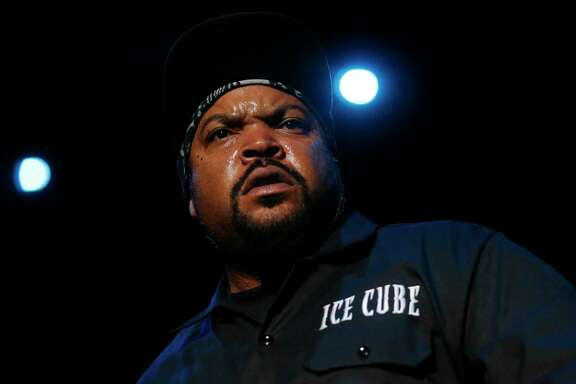 Ice Cube performs during the first night of the Treasure Island music festival Oct. 15, 2016 in San Francisco, Calif.
