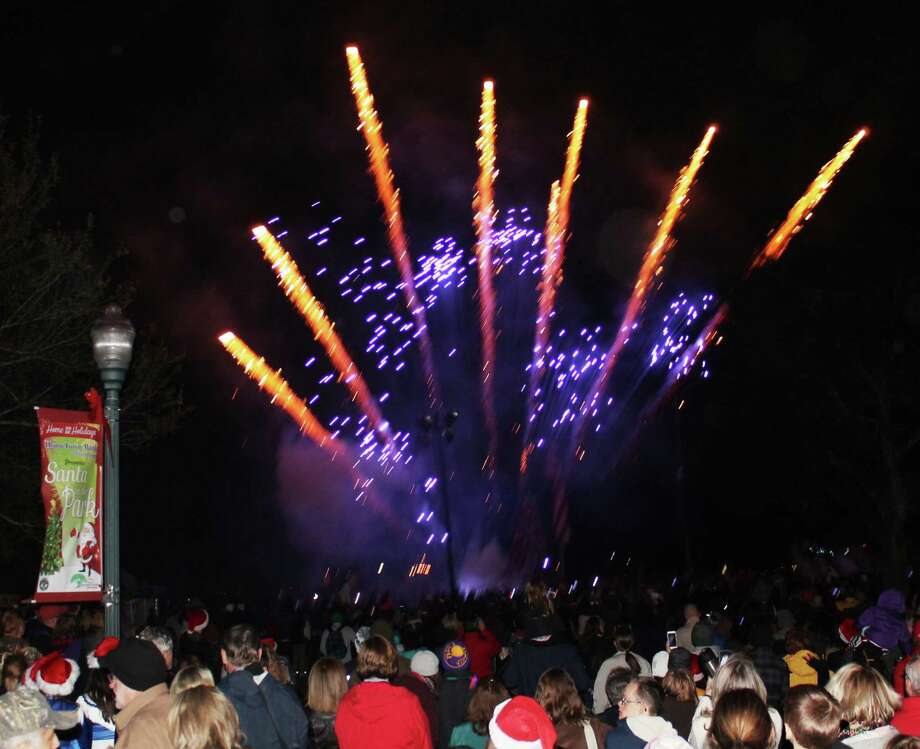 The city of Friendswood's Santa in the Park pulls out all the stops to cover  residents' favorite holiday activities, including a fireworks show, carnival rides, shopping and photos with Santa.