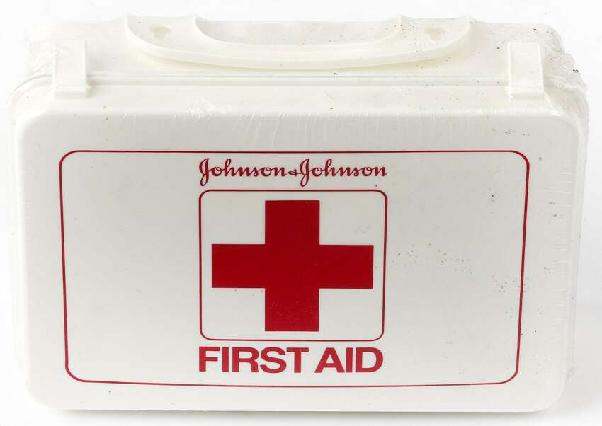 First Aid Kid Always have a First Aid kit handy in case of emergencies or accidents.