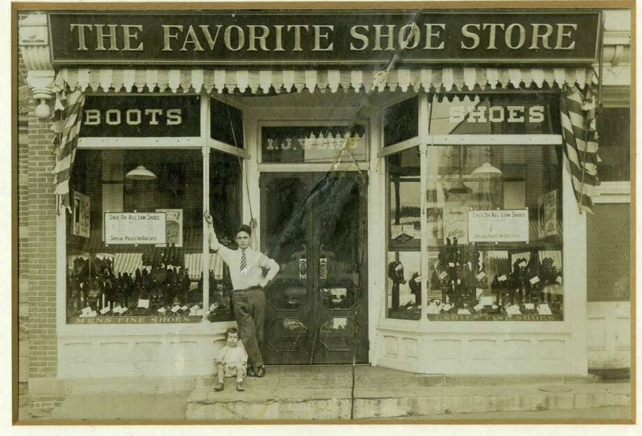 I.J. Weiss opened The Favorite Shoe Store, 92 Greenwich Ave., in 1909. It stayed in business for 91 years. Photo: Contributed Photo / Courtesy Ricky Weiss Arcade And Joe Arcade
