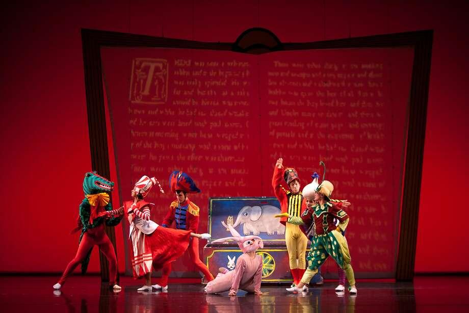 "ODC/Dance presents ""The Velveteen Rabbit,"" Nov. 25 - Dec. 10 at Yerba Buena Center for the Arts.  Photo: Margo Moritz Photo: Margo Moritz"