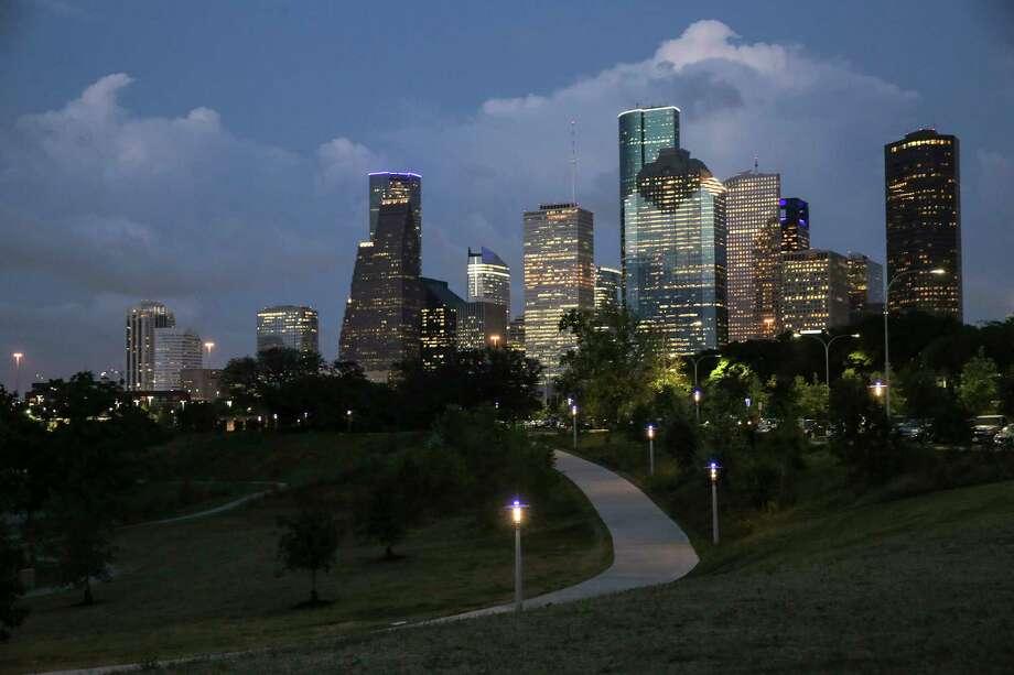 Houston's skyline on May 18, 2017. ( Elizabeth Conley / Houston Chronicle ) Photo: Elizabeth Conley, Staff / © 2017 Houston Chronicle