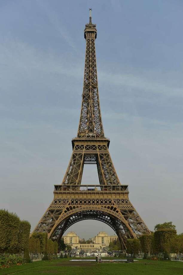 The Eiffel Tower stood at the entrance to Paris' 1889 fair. Photo: Aurelien Meunier, Stringer / 2017 Getty Images