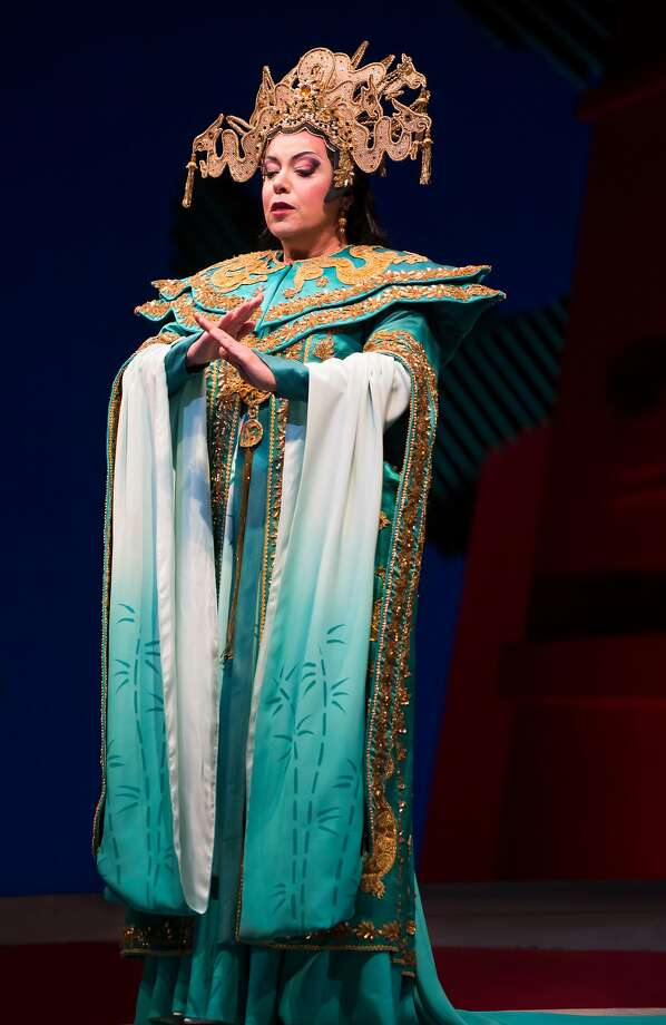 "Nina Stemme is the star attraction in an all-around glorious ""Turandot."" Photo: Stefan Cohen/SF Opera"