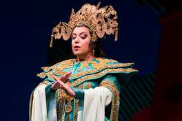 """Nina Stemme in the title role of Puccini's """"Turandot"""" at SF Opera"""