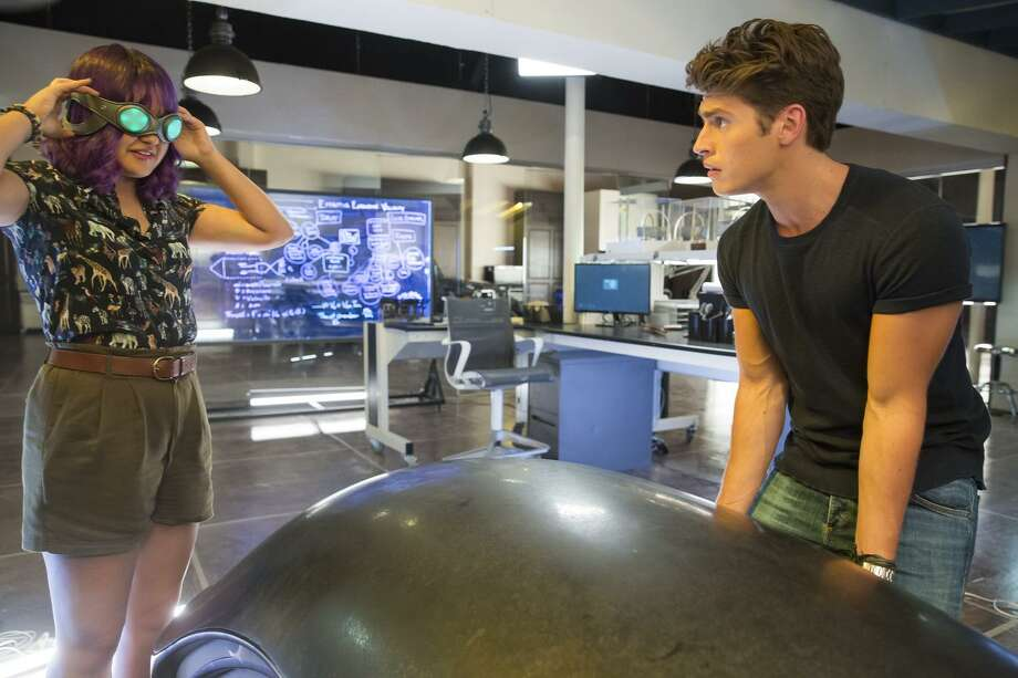 """MARVEL'S RUNAWAYS - """"Destiny"""" - Episode 103 - The kids are reeling following last nightÕs events. As an investigation begins, they discover their parents may have more to hide than they could have imagined. Gert Yorkes (Ariela Barer) and Chase Stein (Gregg Sulkin), shown.  (Photo by: Patrick Wymore/Hulu) Photo: Patrick Wymore / Hulu / 2017 Hulu"""