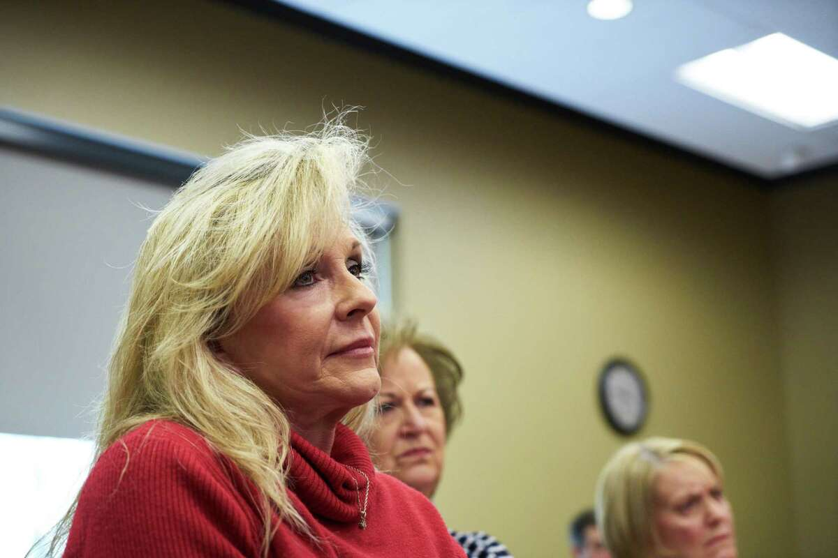 Kayla Moore did not respond to a request for an interview sent through a campaign spokesman.She has forcefully pushed back against the scrutiny her husband has faced during this campaign. Must credit: Photo by Cameron Carnes for The Washington Post
