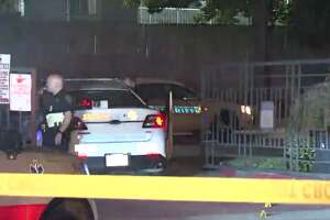 A man was gunned down late Wednesday at a northwest Harris County apartment complex. (Metro Video)