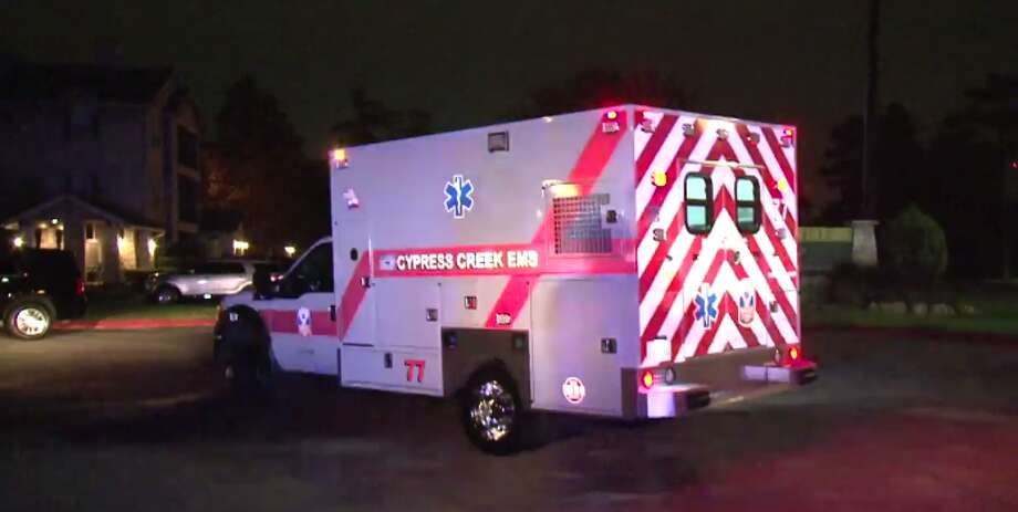 A man was gunned down late Wednesday at a northwest Harris County apartment complex. (Metro Video) Photo: Metro Video