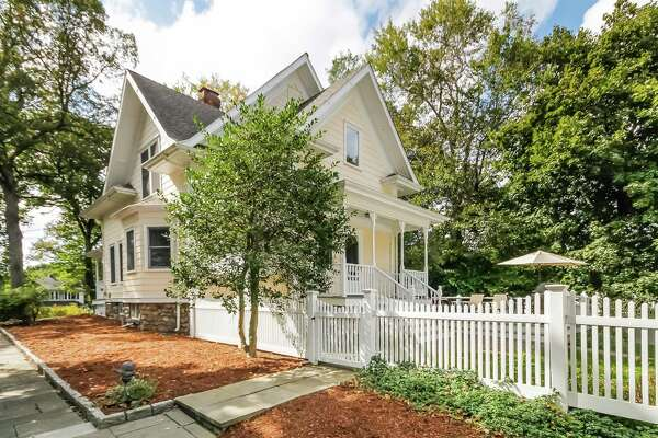 The charming Victorian house at 1 Brown St. straddles the past and the present with architectural details of the early 20th century and modern amenities.