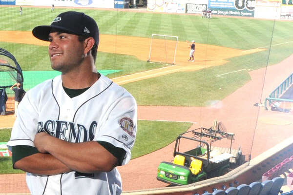 Lexington Legends second baseman Jose Altuve at Whitaker Bank Ballpark in Lexington.