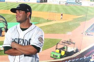 Lexington Legends second baseman Jose Altuve at Whitaker Bank Ballpark in Lexington.