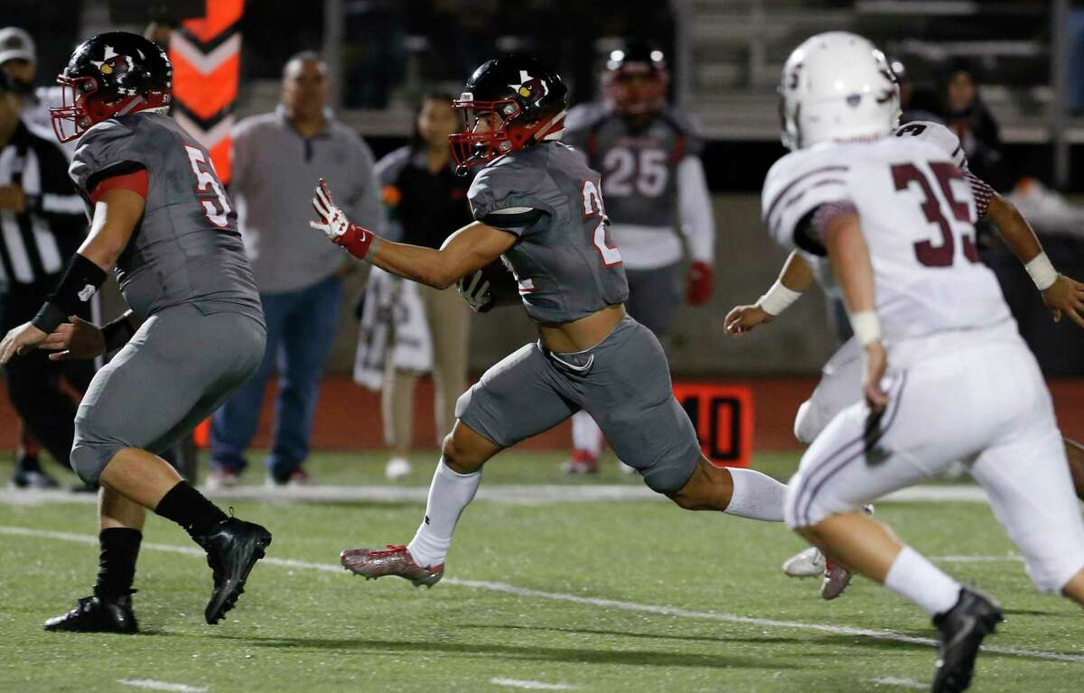 Eddie Perez - Southside Cardinals, Sr. Perez was the area's only rusher to pass the 2,000-yard plateau. Perez helped the Cardinals earned their first outright district title by rushing for 2,425 yards and 29 touchdowns on 265 carries.
