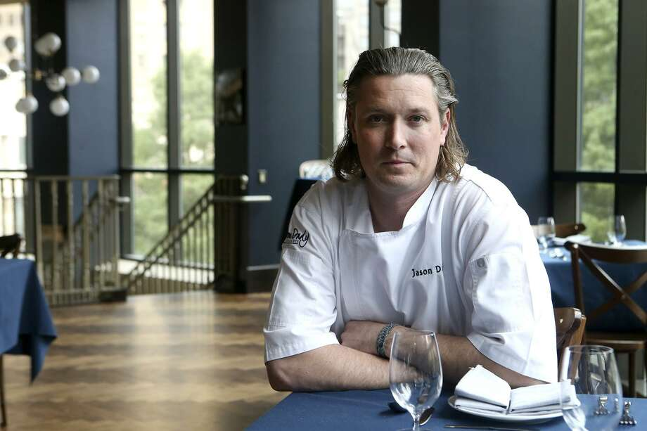 "Executive chef Jason Dady appeared in a 2017 episoce of ""Beat bobby Flay."" Photo: Staff File Photo / ©John Davenport/San Antonio Express-News"