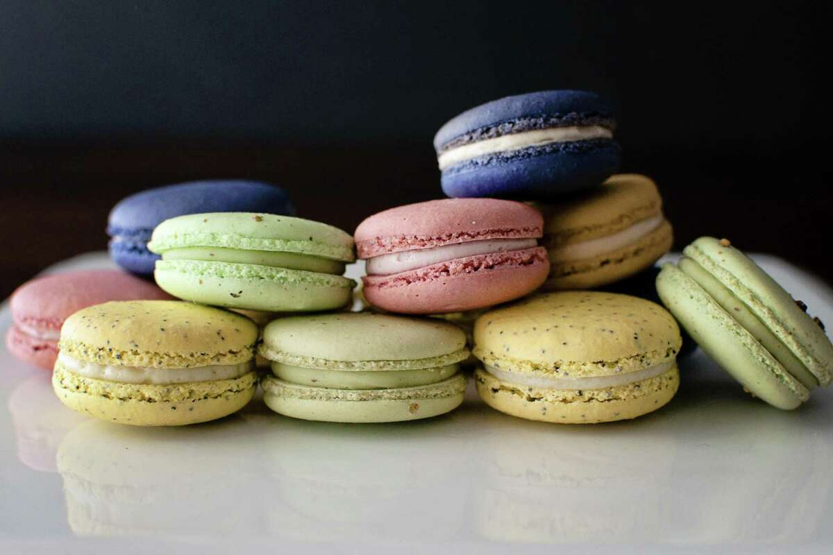 A selection of macarons from Bakery Lorraine.