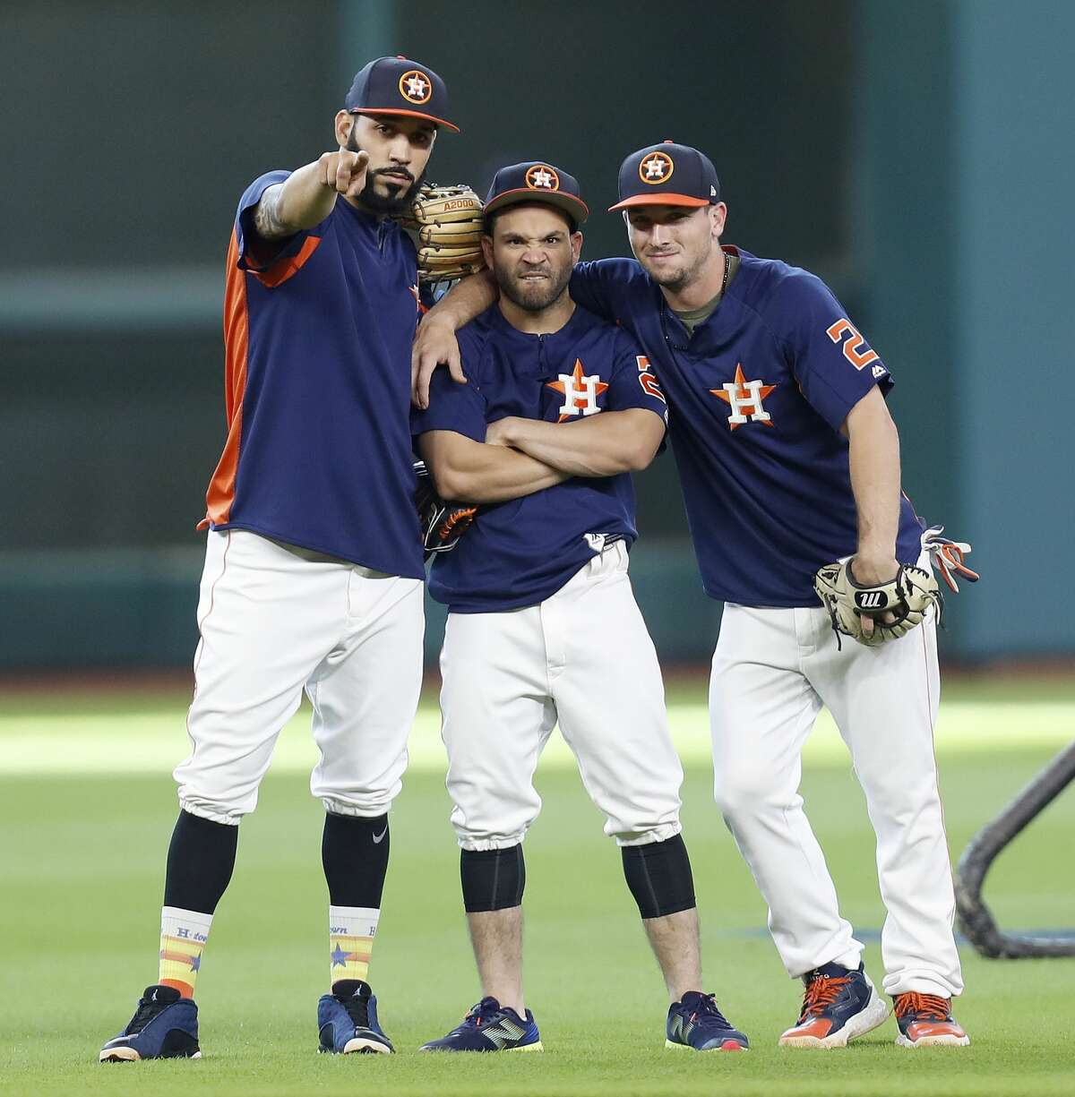 PHOTOS: The salary and contract situation for each Astros player Marwin Gonzalez, Jose Altuve and Alex Bregman are nowhere near the highest-paid Astros, although that surely will change for Altuve in the next year or two. Browse through the photos above for a look at the Astros' salaries and their contract situations.