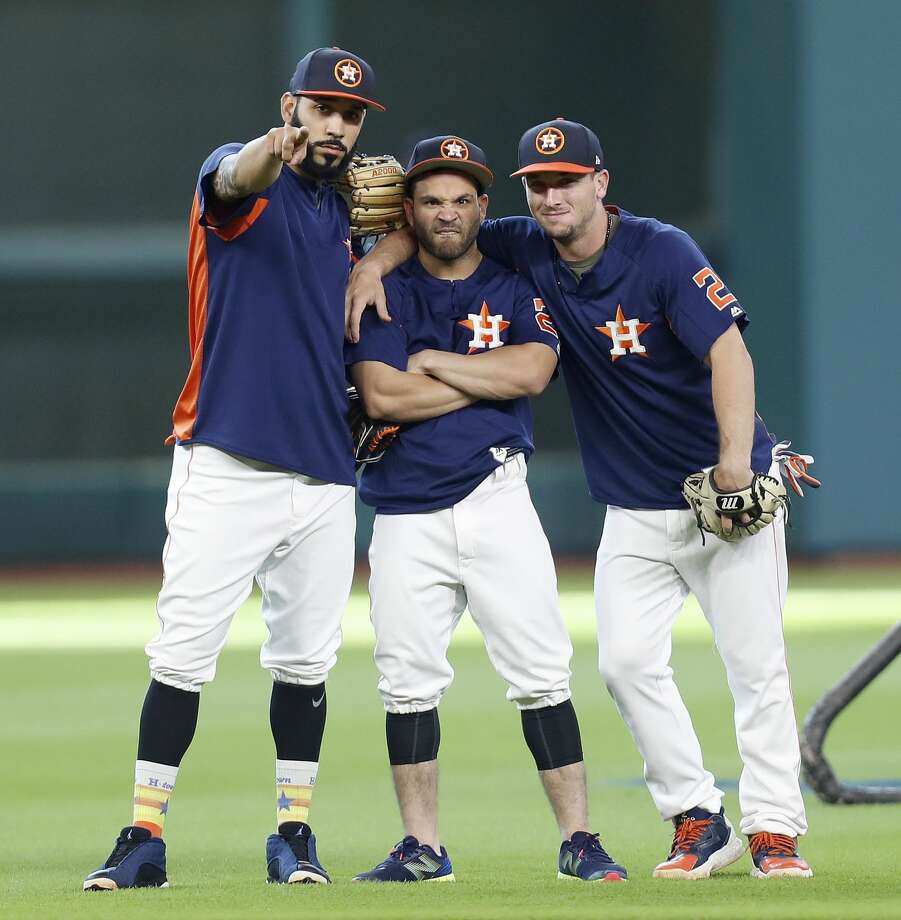 PHOTOS: The salary and contract situation for each Astros playerMarwin Gonzalez, Jose Altuve and Alex Bregman are nowhere near the highest-paid Astros, although that surely will change for Altuve in the next year or two.Browse through the photos above for a look at the Astros' salaries and their contract situations. Photo: Karen Warren/Houston Chronicle