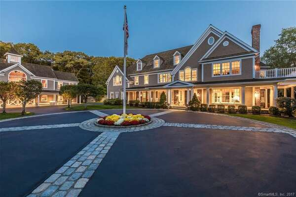 This $3.5 million property at 390 W. Mountain Road in Ridgefield, Conn, includes an Olympic-size luge run. The owner's son, Tucker West, is a member of the U.S. Olympic team and a Union College student.  View listing.