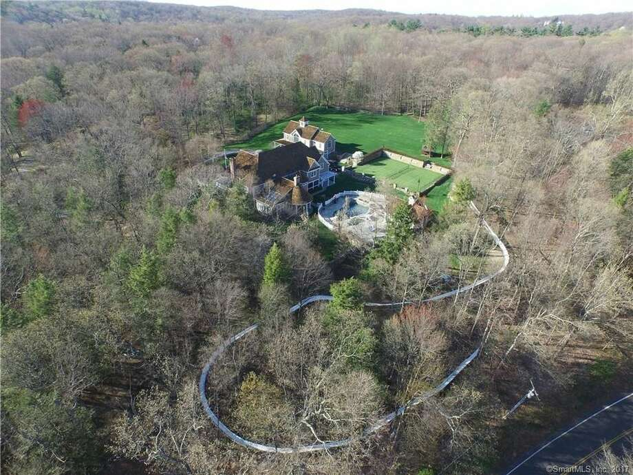 This $3.5 million property at 390 W. Mountain Road in Ridgefield, Conn, includes an Olympic-size luge run. The owner's son, Tucker West, is a member of the U.S. Olympic team and a Union College student. View listing. Photo: Realtor.com