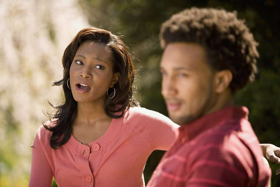 A man's constant complaining is upsetting his girlfriend. Photo: John Henley, Getty Images/Blend Images