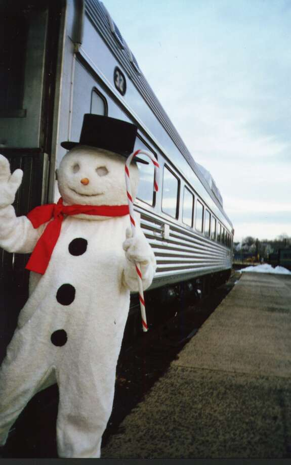 Take a ride with Santa in a fully-restored 1953 New Haven Railroad Rail Diesel Car at the Danbury Railroad Museum. Trains will depart every half-hour Saturday and Sunday. Find out more.