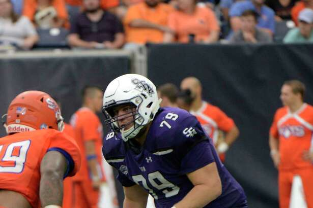Houston Christian graduate and Stephen F. Austin senior Josh Keith was a preseason all-Southland Conference selection and has started nine games for the Lumberjacks, eight at left tackle.