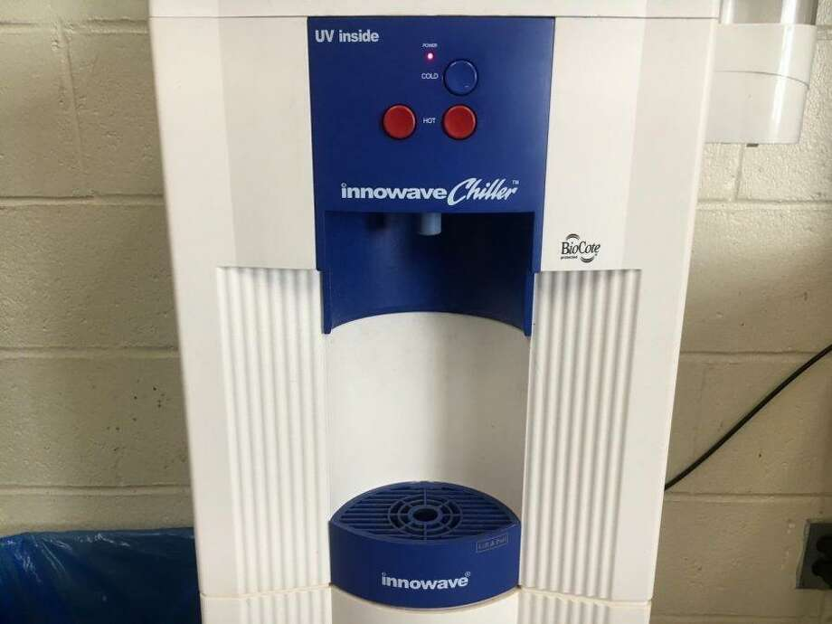 A Stamford High School environmental group has raised funds for new water fountains. Photo: Ryan Hoak / Contributed Photo