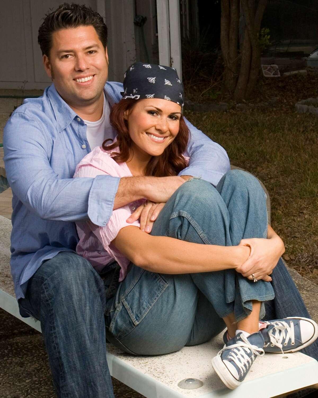 Armando Montelongo and former wife, Veronica, in a 2009 photo.