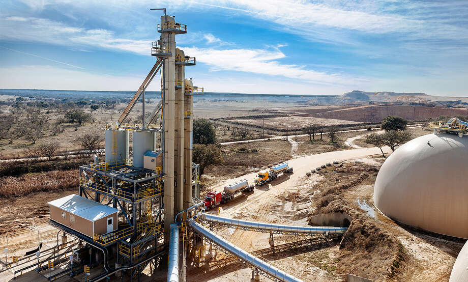 U.S. Silica, which operates this mine in Boca in McCulloch