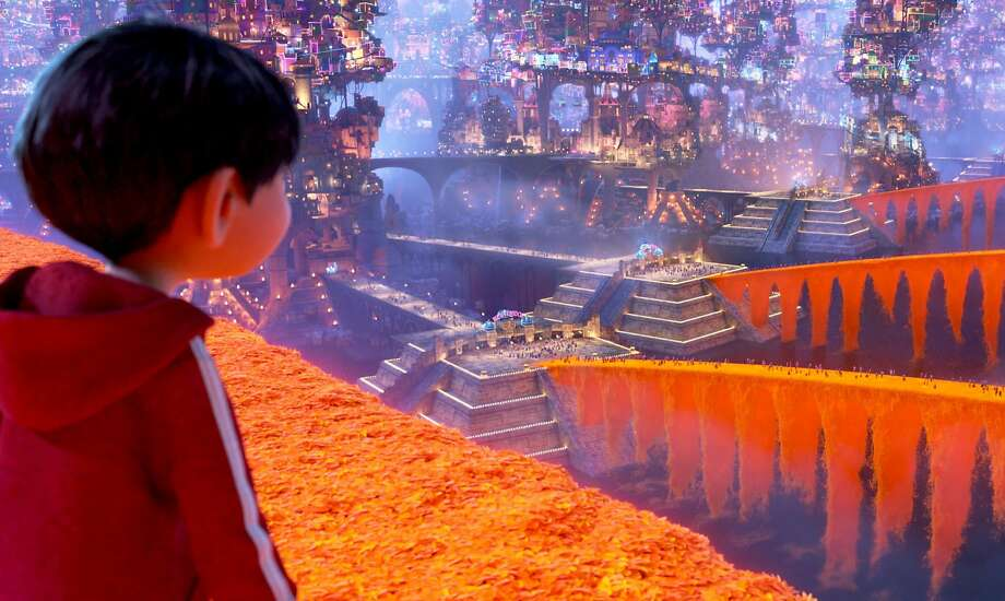 """""""Coco"""" takes its characters into the Land of the Dead, starting off goofball and moving in surprising directions and into a deeper, darker emotional mood. Photo: Pixar, Walt Disney Pictures-Pixar Animation Studios"""