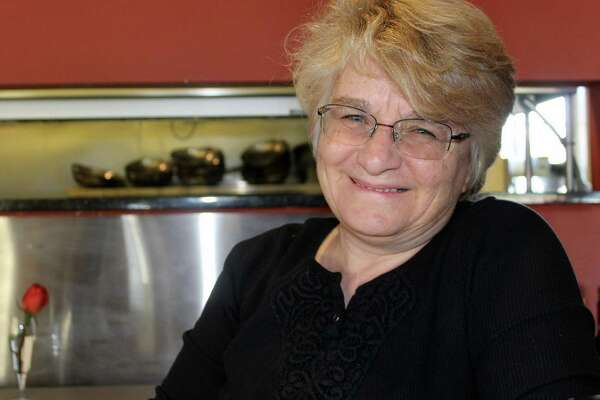 Maria Funicello at her restaurant, Tutti's, on Riverside Ave. on Nov. 10.