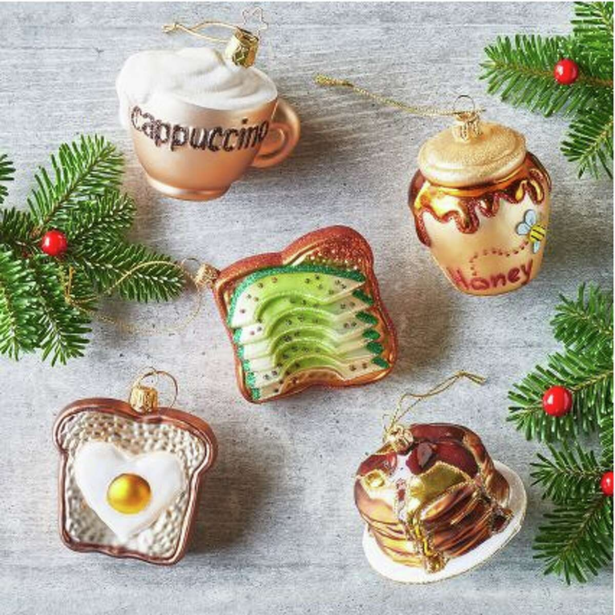 Sur la Table now sells avocado toast ornaments for $17.