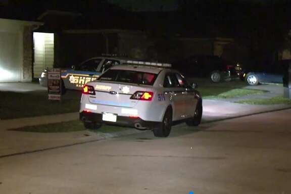 A 17-year-old gunshot victim was found Wednesday night in a residential neighborhood in Humble.