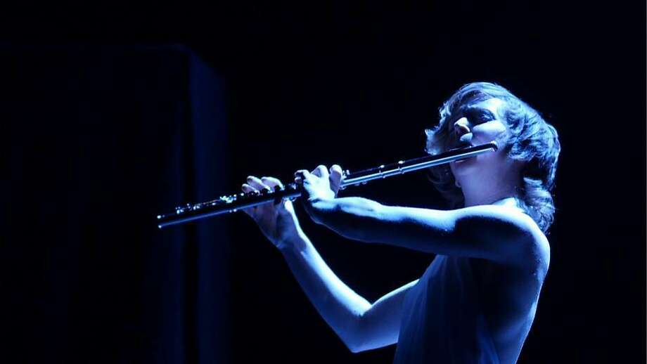 "Claire Chase's ""Density 2036"" is a decades- long project to create a new repertoire of work for solo flute, culminating in the centennial year of Varèse's masterpiece. Photo: Courtesy Claire Chase"