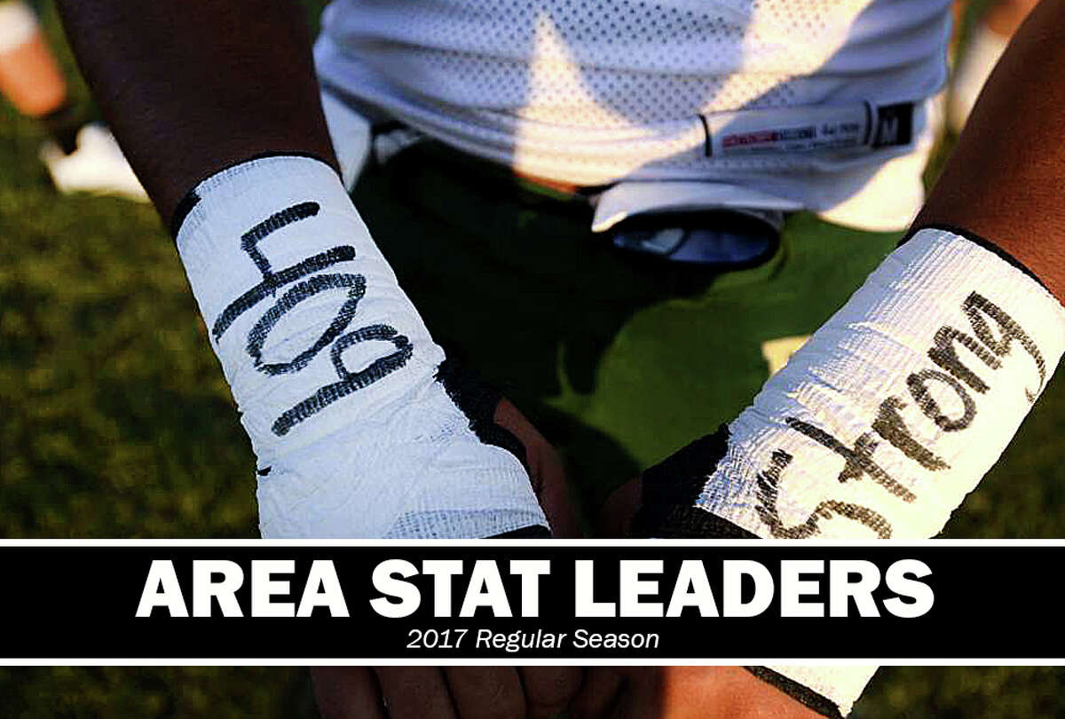 High School Football: Passing, rushing and receiving leaders for the 2017 regular season.