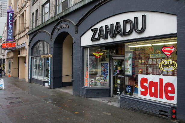 Zanadu Comics in downtown Seattle on Thursday, Nov. 16, 2017. Zanadu closes at the end of this month after 42 years in business.