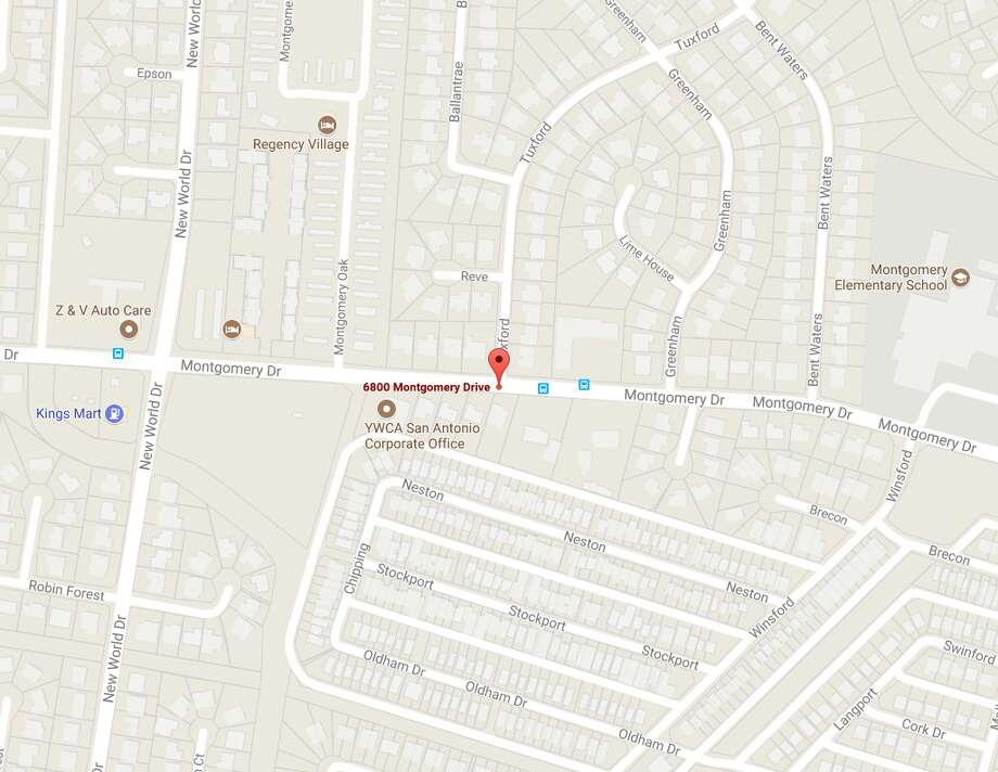 Crews are working on a gas leak in the 6800 block of Montgomery Drive.