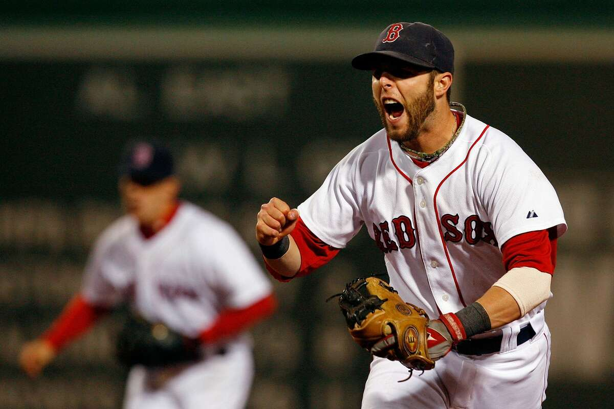 2008 American League MVP Dustin Pedroia, Red Sox