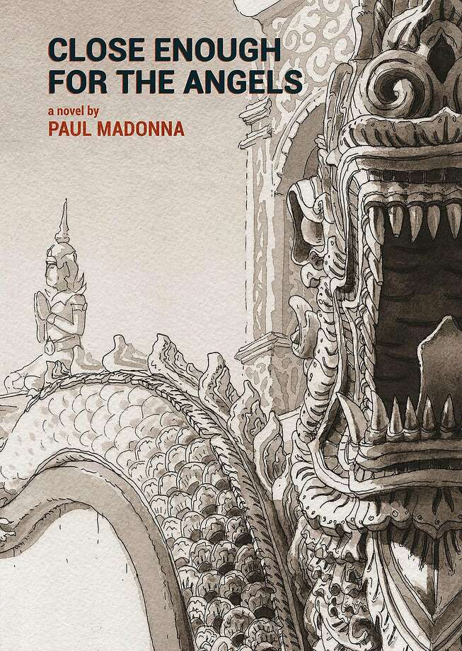 """Close Enough for the Angels,"" by Paul Madonna, from Petty Curse Books. Paul Madonna will be at Book Passage in SF on Saturday, Nov. 25.  Image courtesy of Petty Curse Books Photo: Courtesy Petty Curse Books"