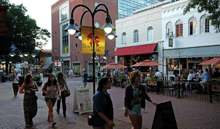 The Charlottesville, Va., downtown mall. Photo: Photo For The Washington Post By Norm Shafer / For The Washington Post