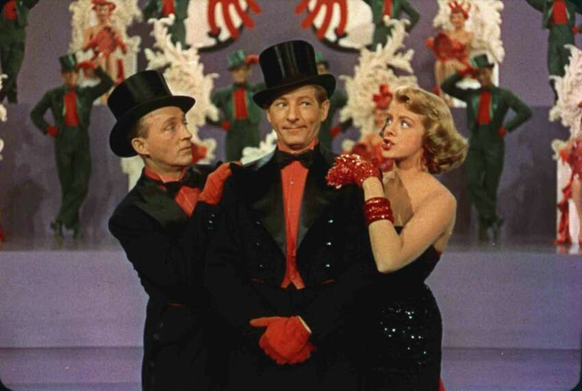 White Christmas (1954) Available on Netflix A successful song-and-dance team become romantically involved with a sister act and team up to save the failing Vermont inn of their former commanding general.