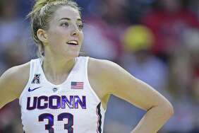 UConn's Katie Lou Samuelson has 199 career 3-pointers.