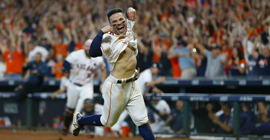 PHOTOS: Jose Altuve's 2017 season in photosJose Altuve was named the 2017 AL MVP on Thursday.Browse through the photos to see the iconic moments from the star second baseman's season. Photo: Brett Coomer/Houston Chronicle