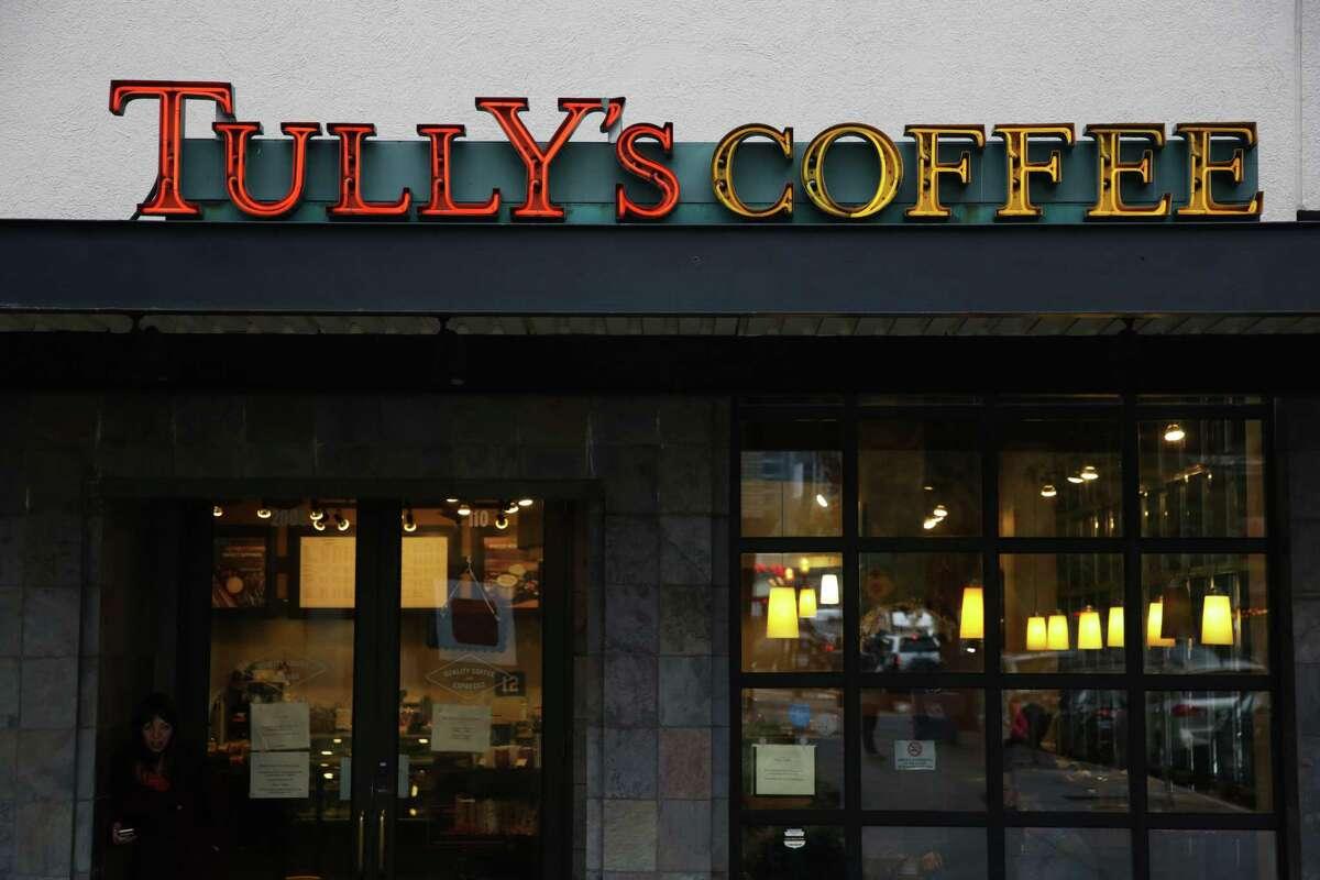 Tully's Coffee on Western Avenue, November, 16, 2017.
