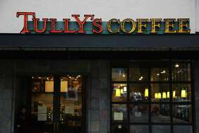 Tully's Coffee on Western Avenue, November, 16, 2017.