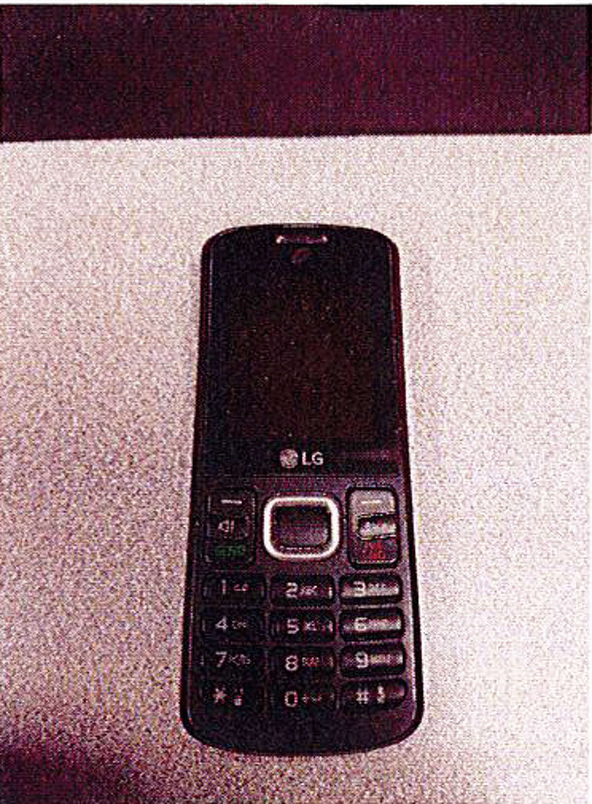 A photo of Devin Patrick Kelley's second cell phone found with him when law enforcement searched his vehicle.