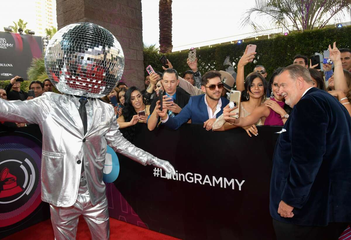 """""""They said I could be anything, so I became a disco ball."""" - this guy probably."""