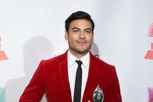Carlos Rivera nailed the color blazer look.